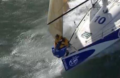 Corentin Douguet Sailing crazy Figaro